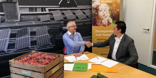 Wocozon en Instain gaan 4500 woningen voorzien van zonnepanelen! - Instain Installatiebedrijf