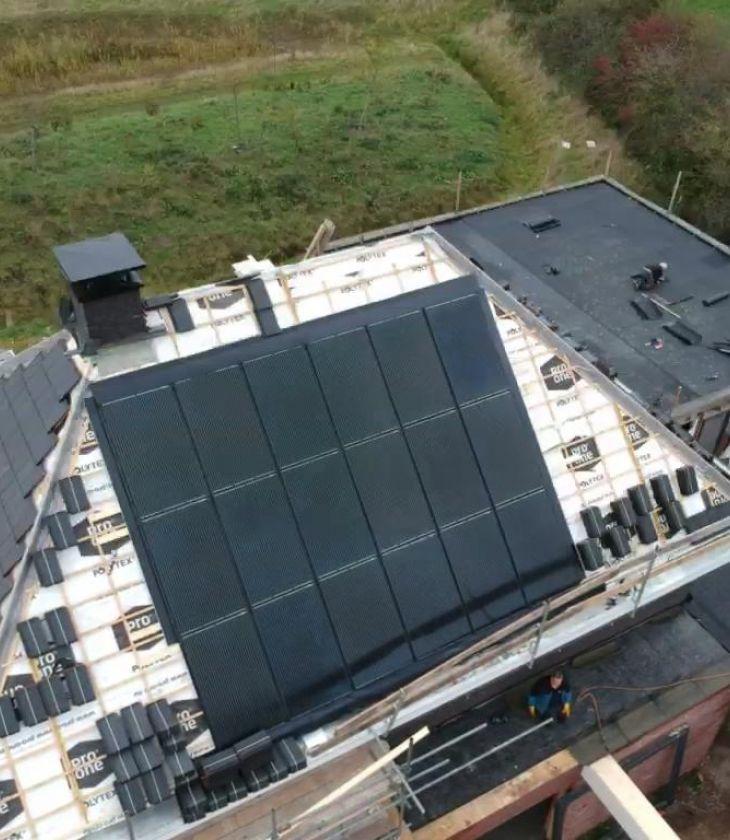 Nieuwbouw fossielvrije villa en kantoor Twello - Instain B.V.