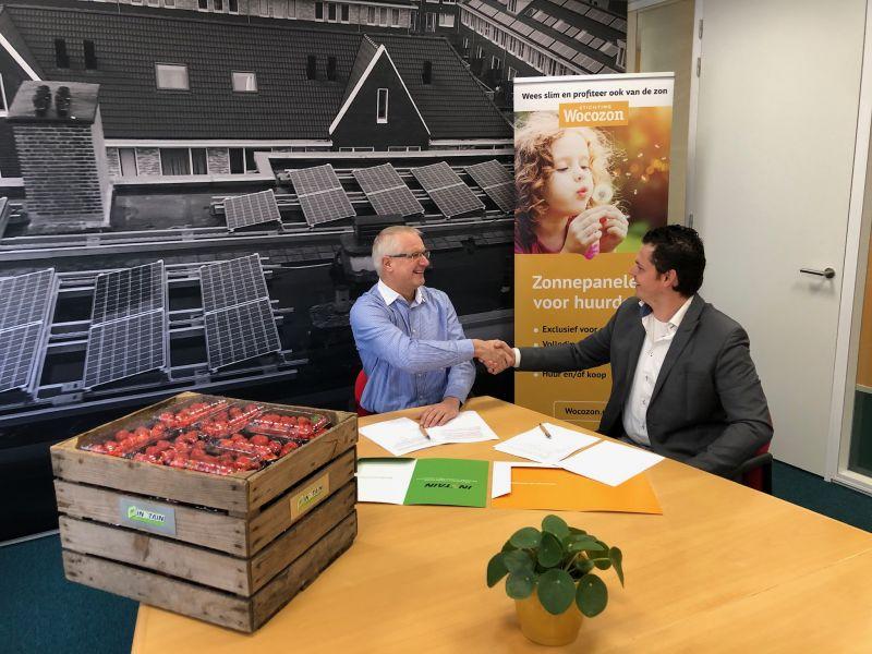 Wocozon en Instain gaan 4500 woningen voorzien van zonnepanelen!