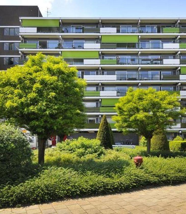 Duurzaamheidsaanpak van de Jan Hoving flat Arnhem